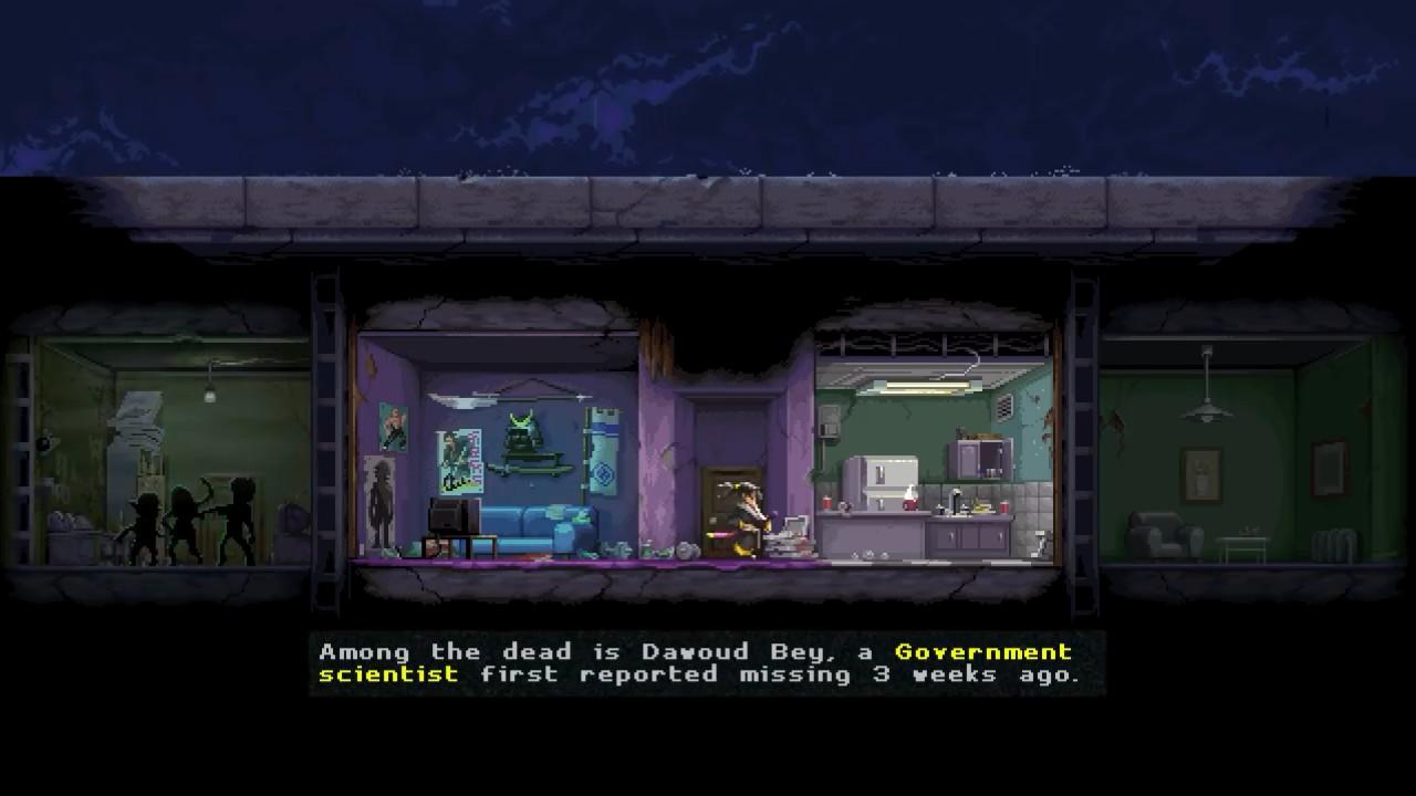 横版动作暗杀游戏《武士零》 NS超长38分钟实机演示