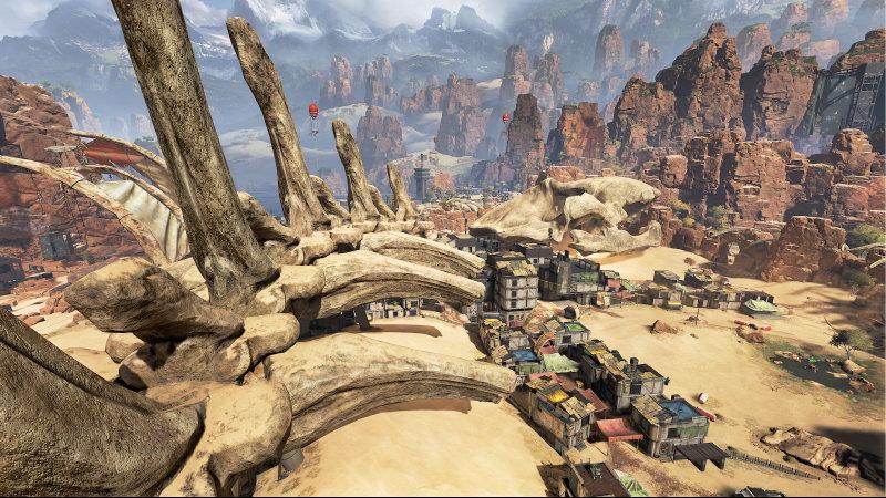 《APEX英雄》 玩家发现新bug玩法 终于可以垂直升天了