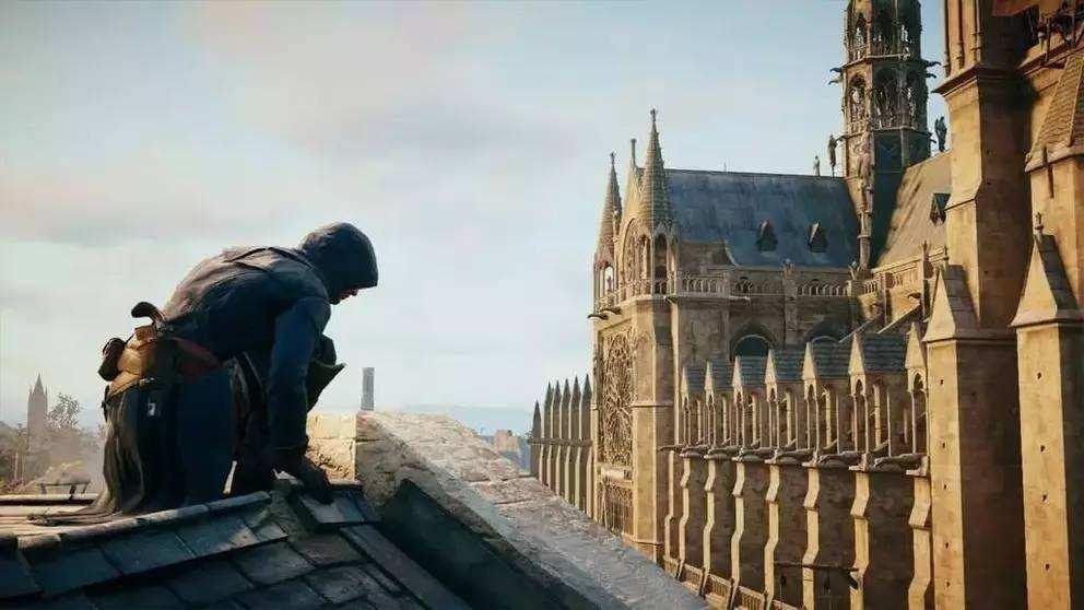 《刺客信条:大革命》或能为巴黎圣母院修复提供指导