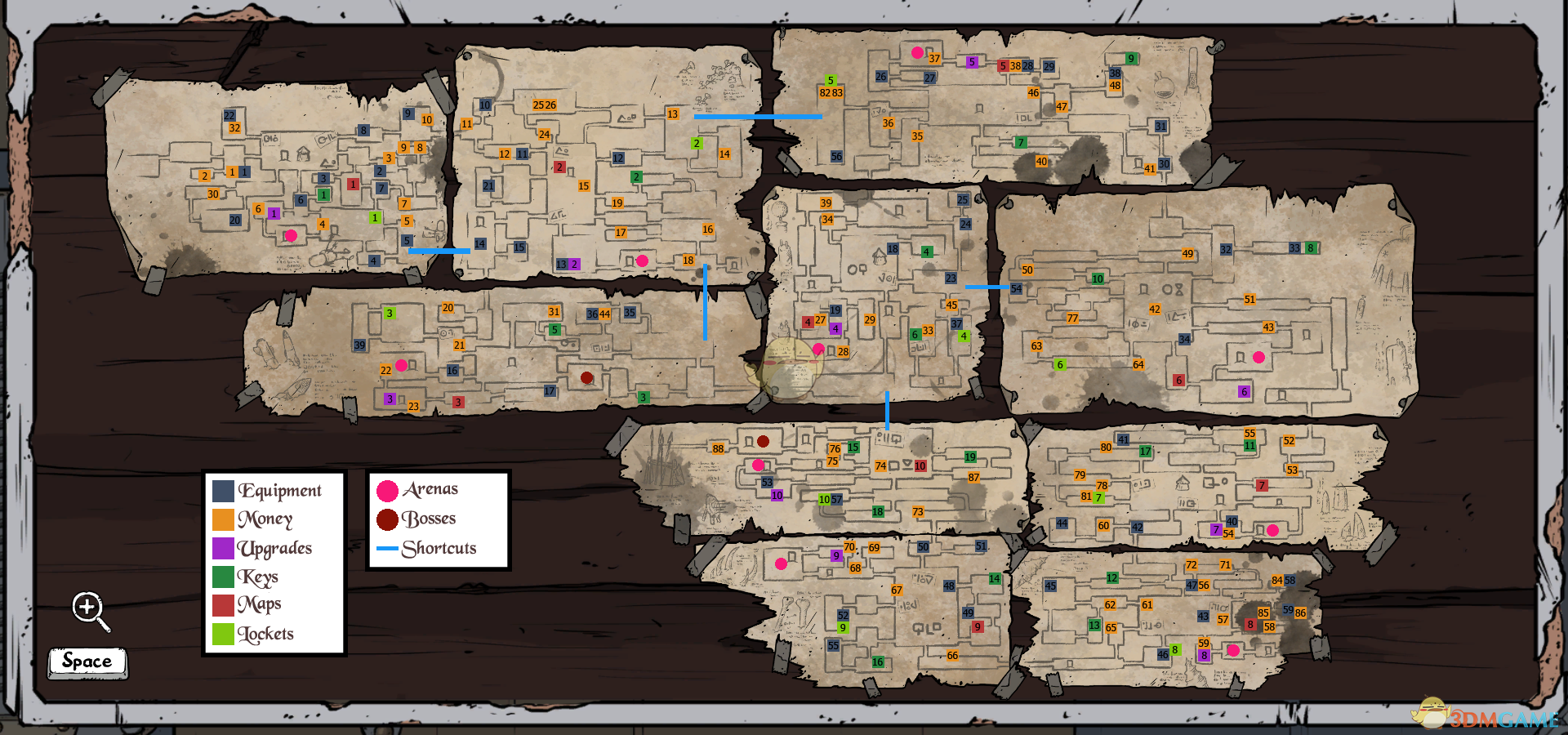 《中世纪合金》全收集全地图一图流攻略