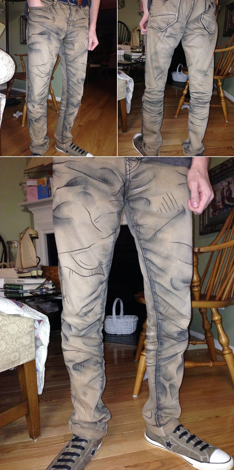 《无主之地》系列卡通渲染长裤现实版 逼真而又还原