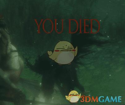 """《只狼:影逝二度》黑暗之魂""""YOU DIED""""死亡画面MOD"""