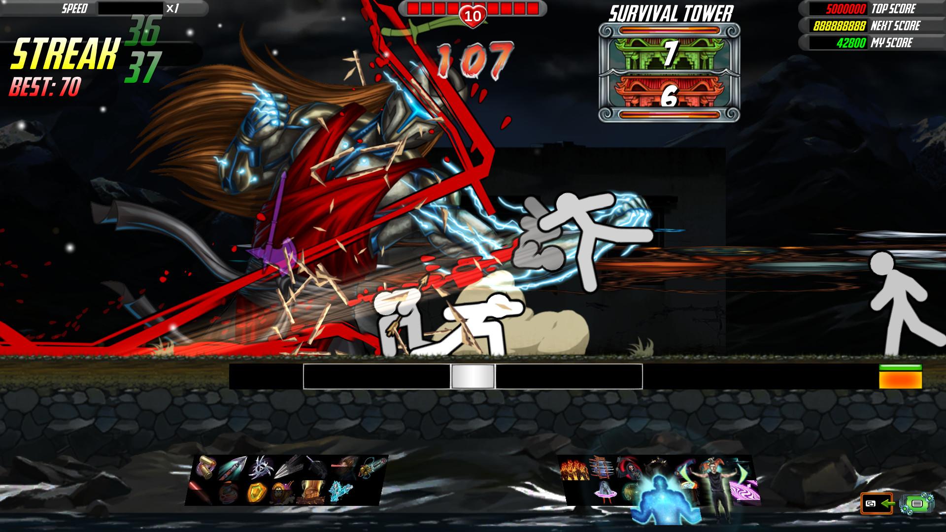 火柴人超杀格斗《一击必杀2》Steam解锁 98%极度好评