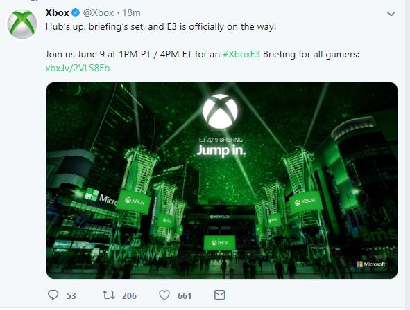 游戏新消息:反击PS5微软公布E32019发布会时间