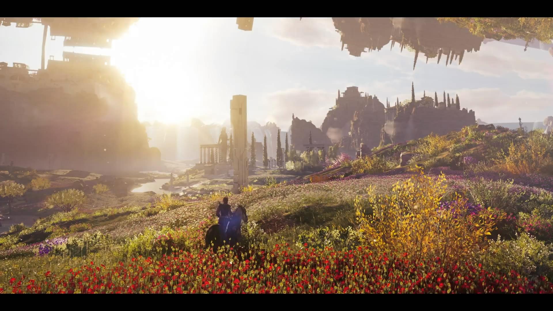 """《刺客信条:奥德赛》新DLC""""亚特兰蒂斯的命运""""预告"""