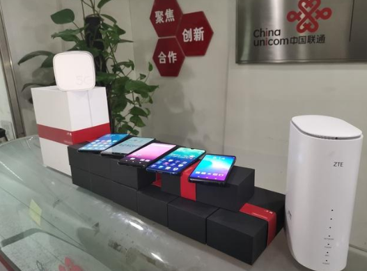 中国联通首批5G手机到位 北京西单先行开放公众体验