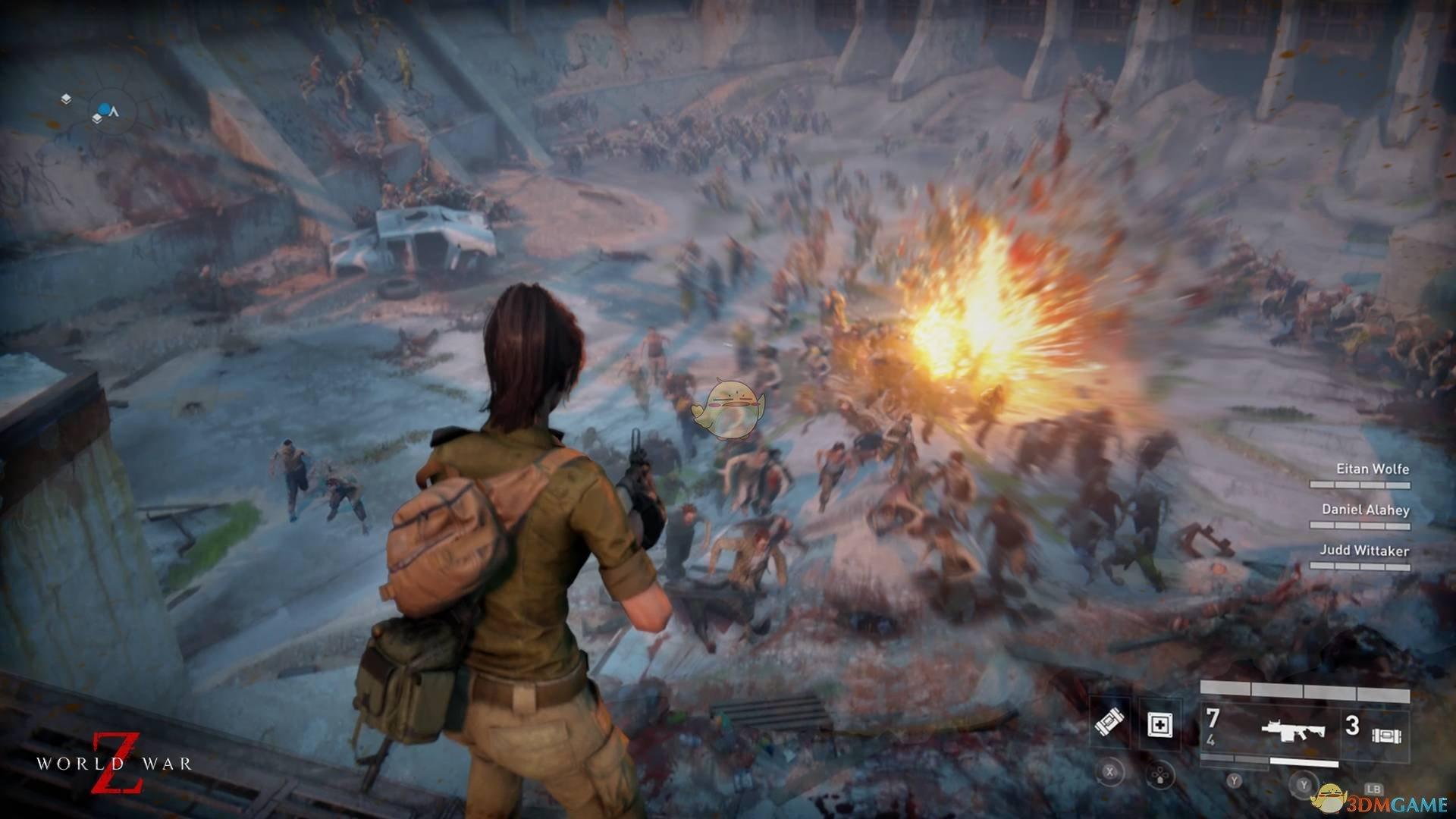 《僵尸世界大战》重型武器种类介绍