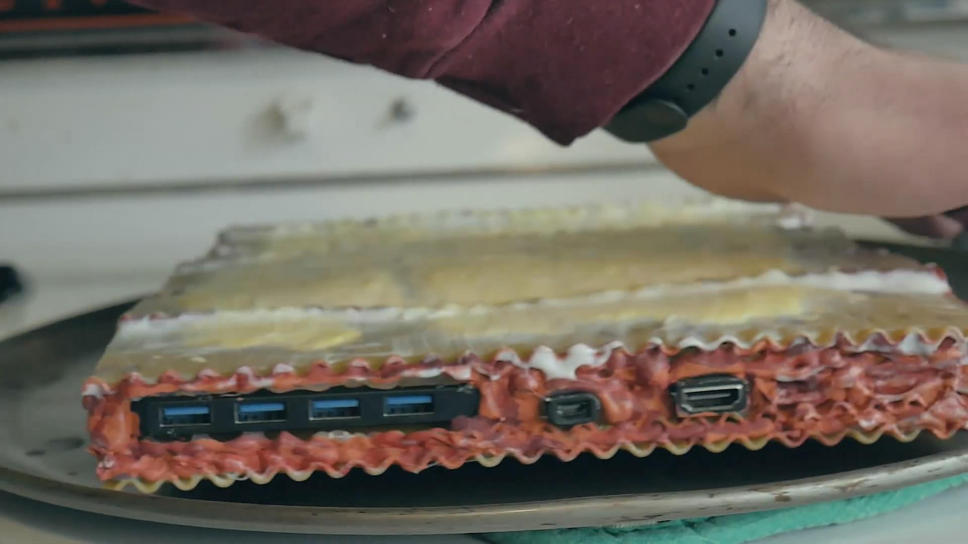 國外玩家自制美食版PC主機 吃貨的腦洞實在太大了