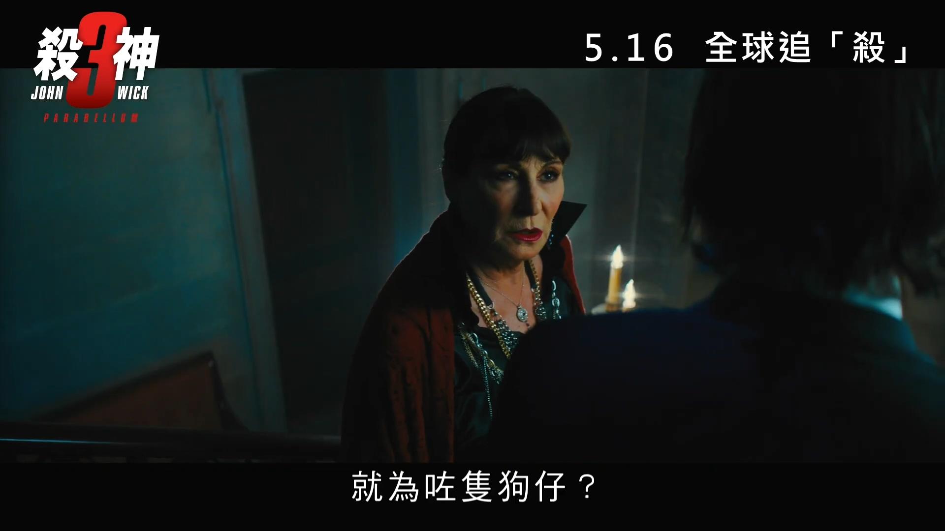 《疾速追殺3》首曝中字片段 基努真是愛狗心切