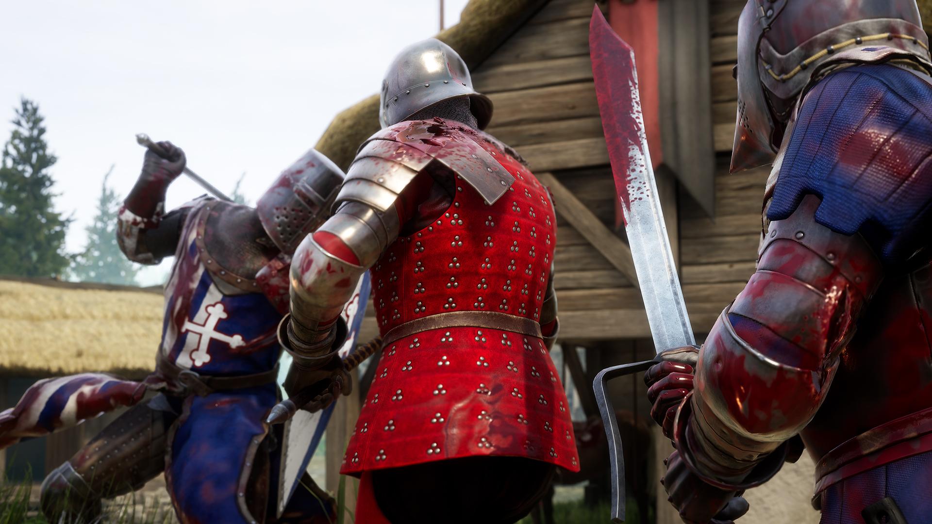 血腥厮杀 中世纪对战游戏《雷霆一击》4月29日发售