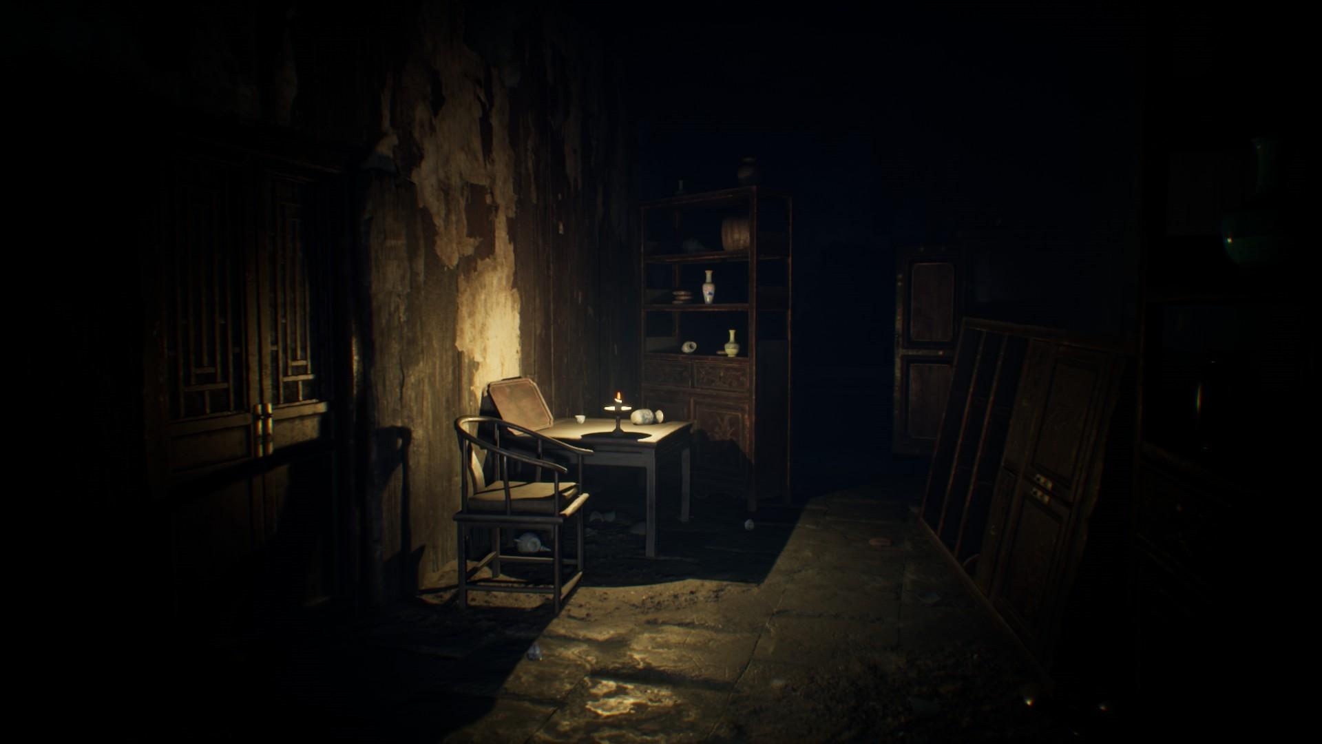 国产恐怖游戏《纸人》正式发售 清末古宅随便逛逛