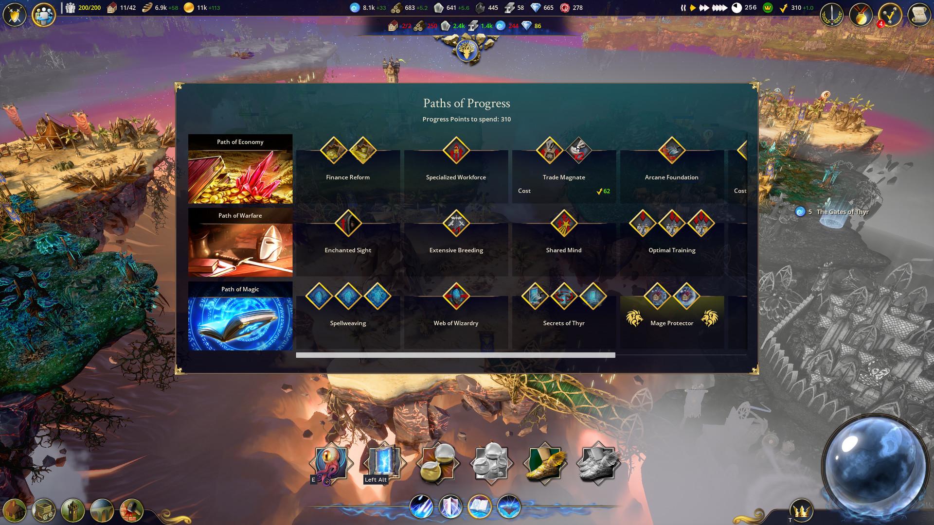 虚幻引擎4策略游戏《漂移大陆:魔法复兴》细节