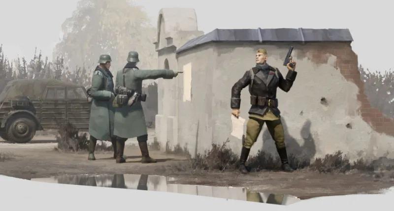策略新作《游击队1941》演示 延续盟军敢死队风格