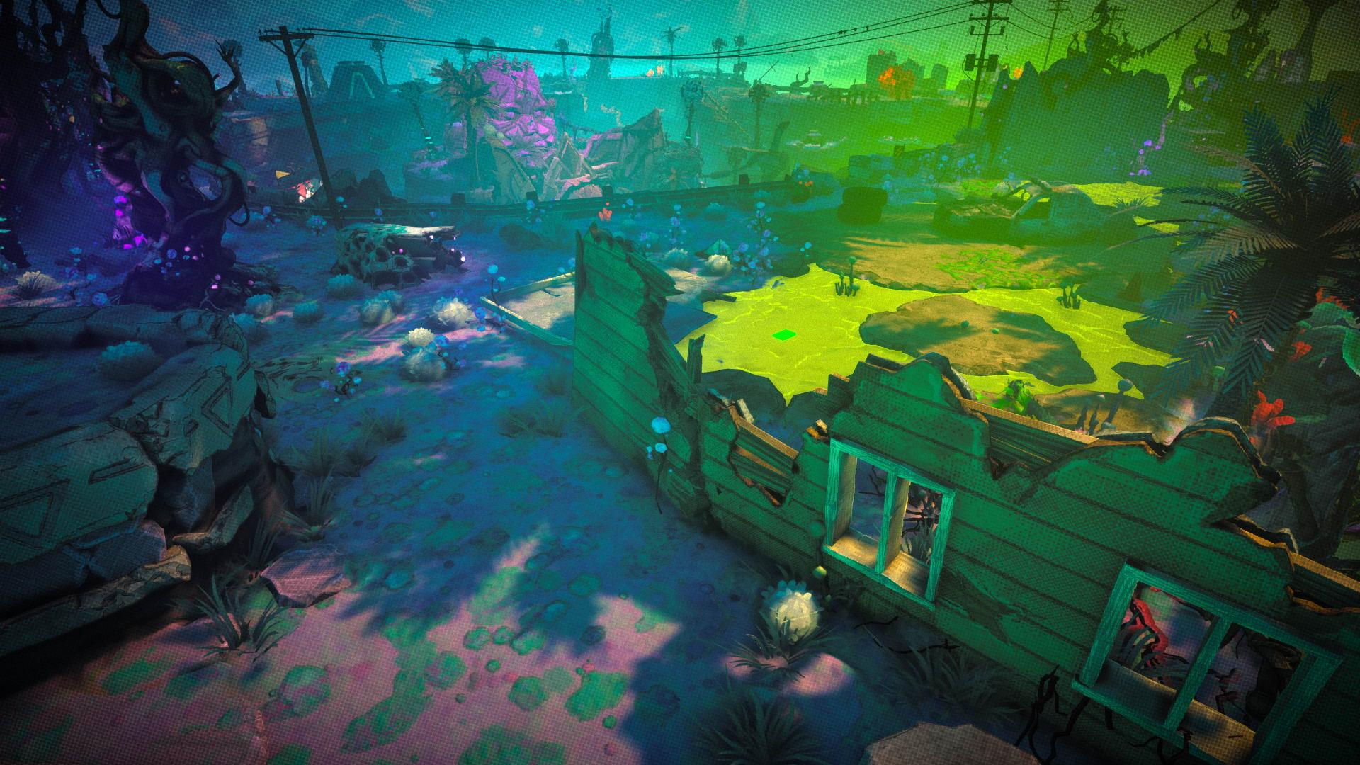 万代动作游戏《RAD》新截图 狂怒与无主之地合体
