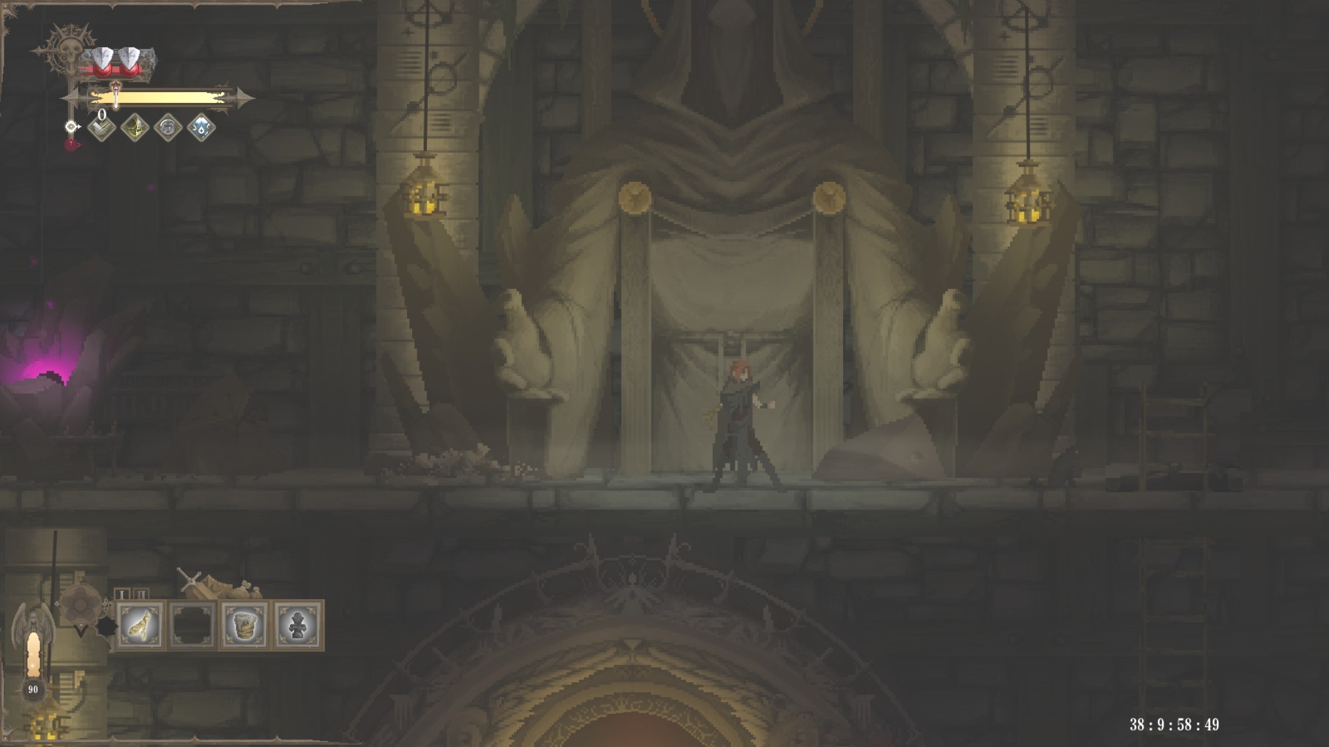 《黑暗献祭》评测:创新的宗教题材,慢节奏的战斗玩法