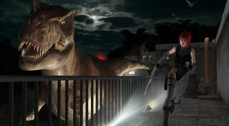 卡普空经典游戏《恐龙危机》高清材质包 画质改善