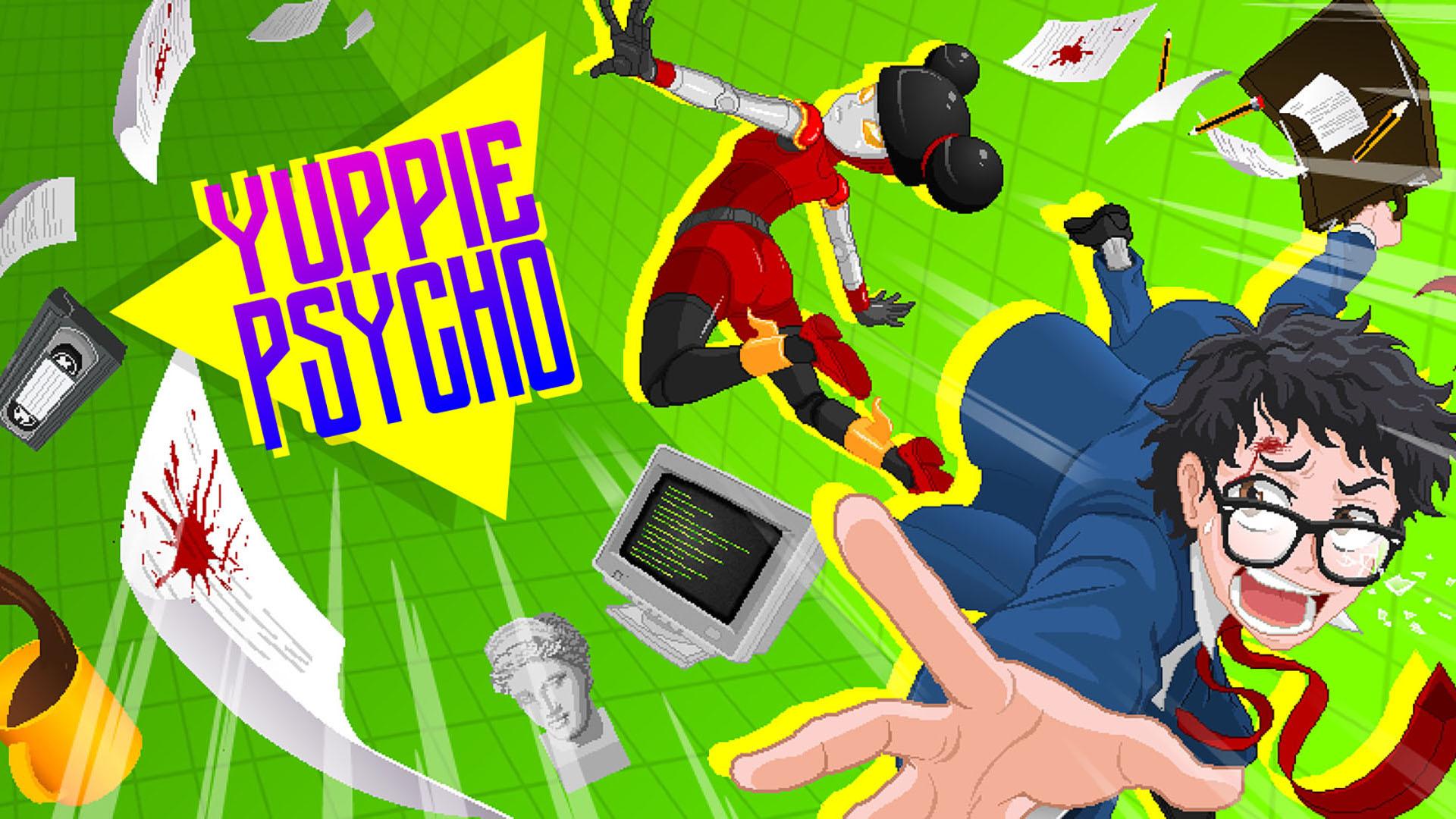 职场惊悚求生记《Yuppie Psycho》现已上架Steam