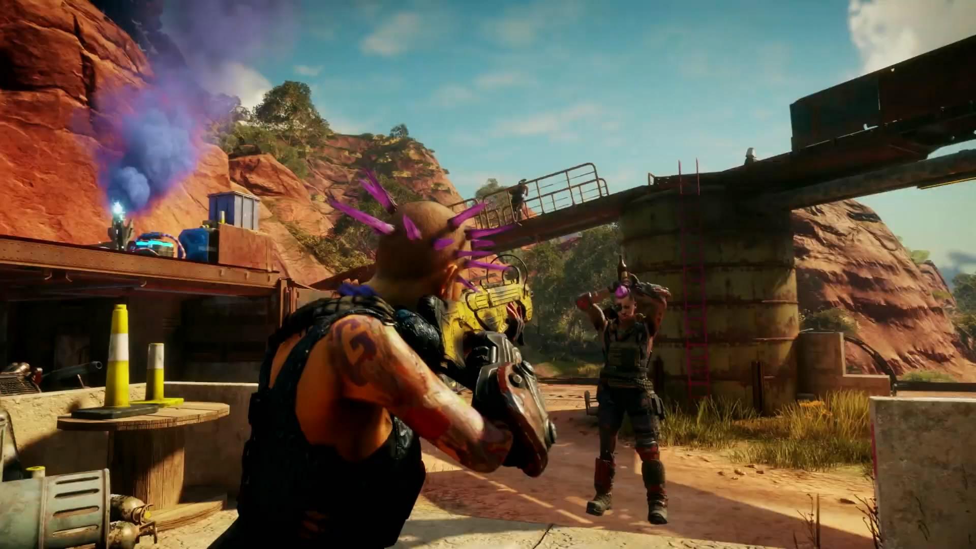 《狂怒2》游戏玩法预告片 画面华丽爽快射杀敌人