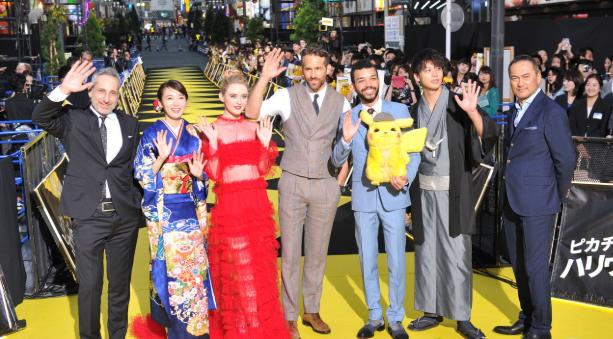 <b>死侍光临黄地毯!《名侦探皮卡丘》日本举行映前盛大见面会</b>