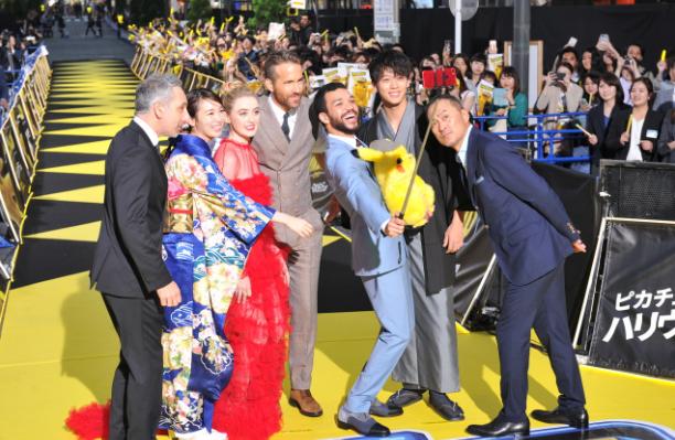 死侍光临黄地毯!《名侦探皮卡丘》日本举行映前盛大见面会