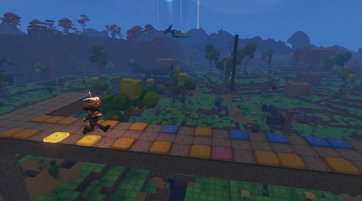 欢快的像个孩子,《方块方舟》上线最新音乐方块玩法
