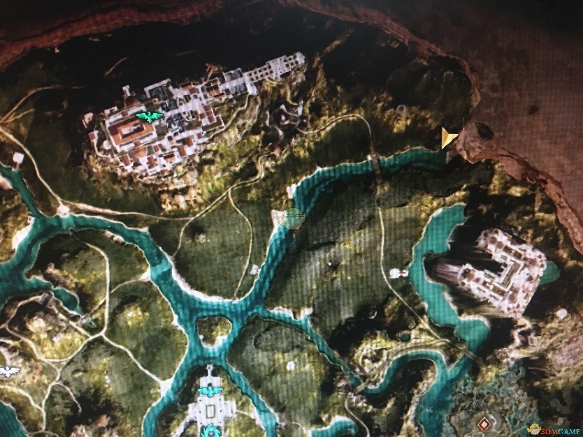 《刺客信条:奥德赛》沉睡的巨人陶片位置