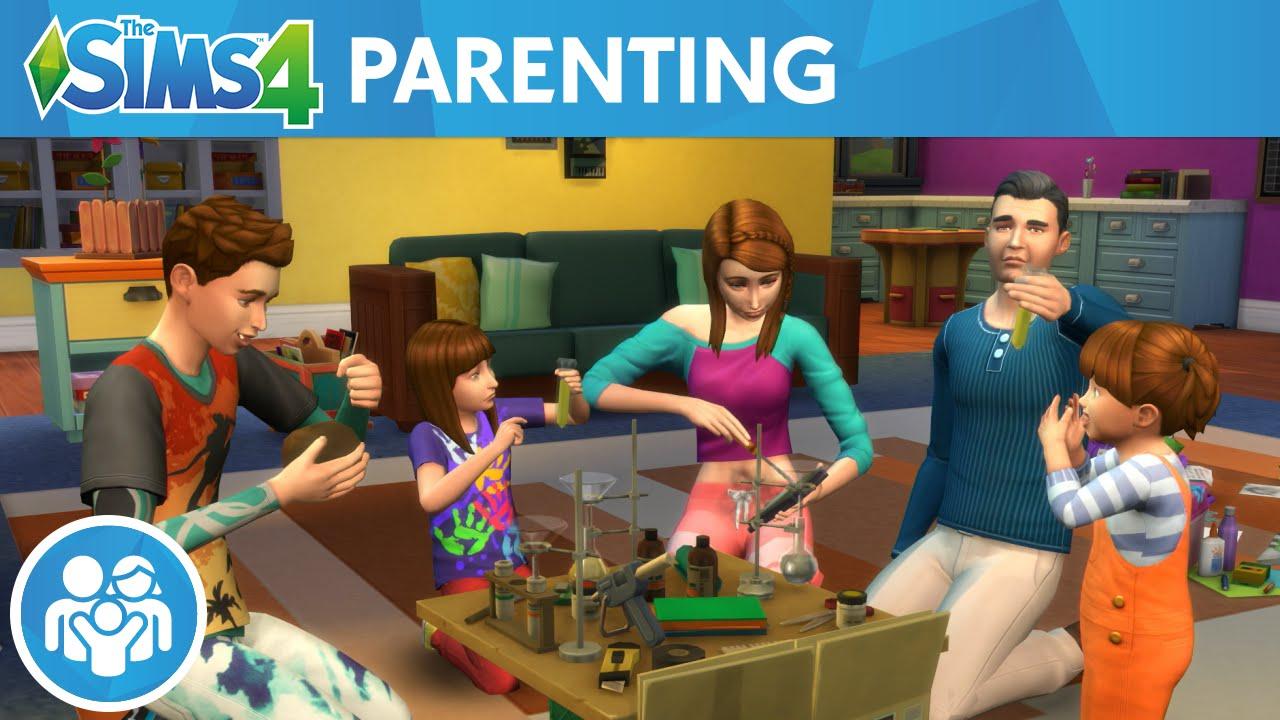 《模拟人生4:生儿育女》3DM免安装中英文豪华版