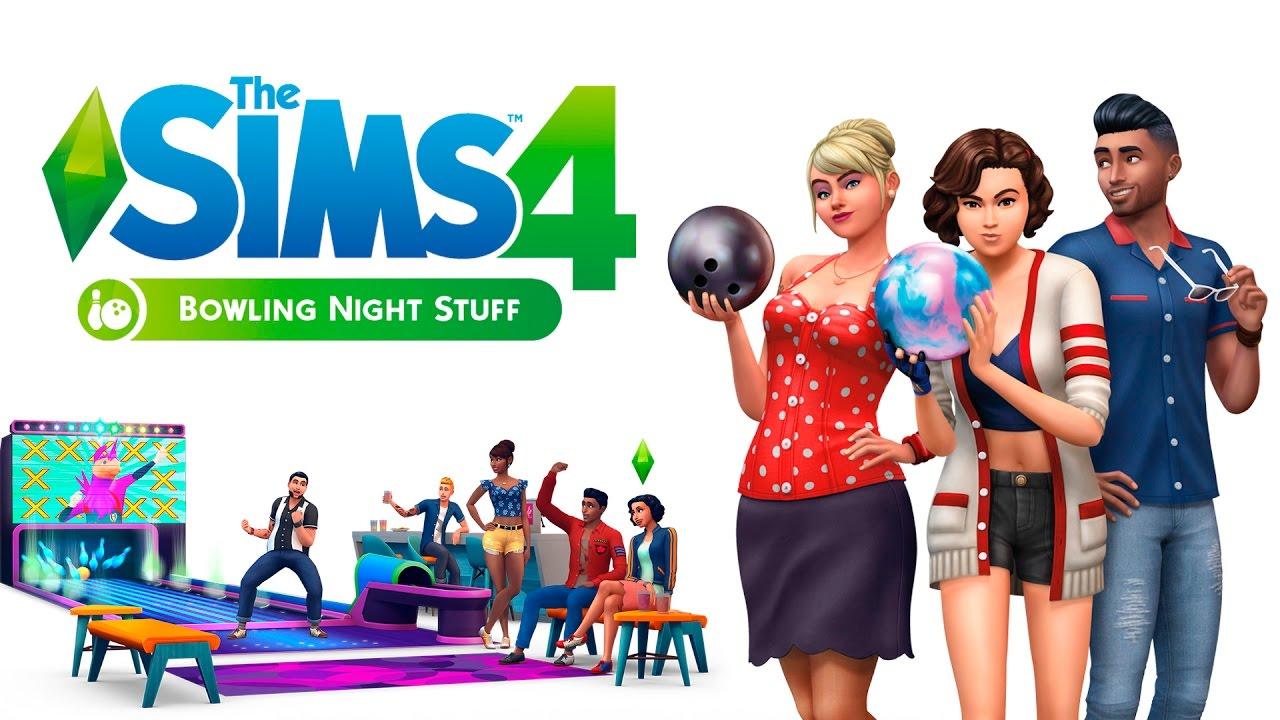 《模拟人生4:保龄球之夜》3DM免安装中英文豪华版