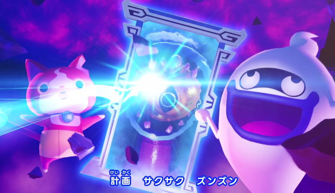 Switch《妖怪手表4》最新开场预告放出!4个美丽世界妖怪物语