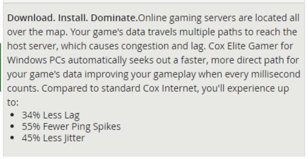 Cox向玩家推出+15美元的提速服务 但被质疑收智商税