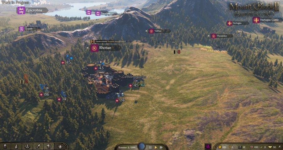 《骑马与砍杀2》将引入全新经济系统 游戏更真实