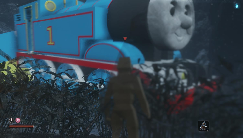 万物皆可托马斯! 《只狼》白蛇变身小火车
