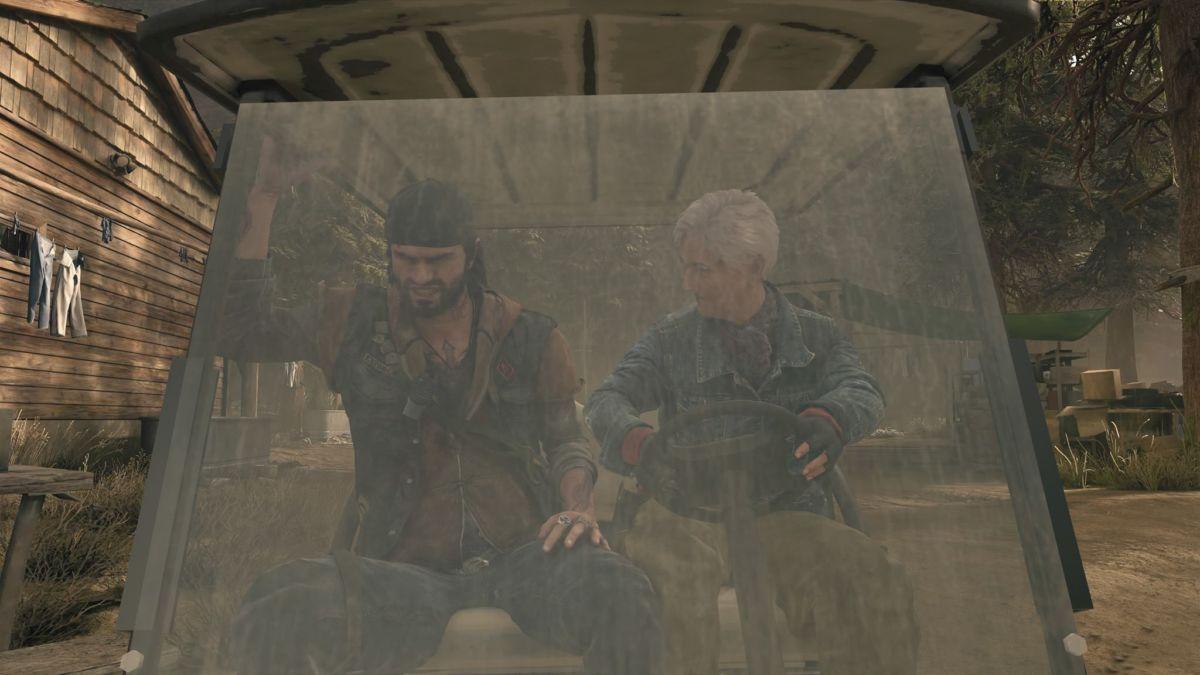 《往日不再》拍照模式真有趣 搞怪表情十分滑稽