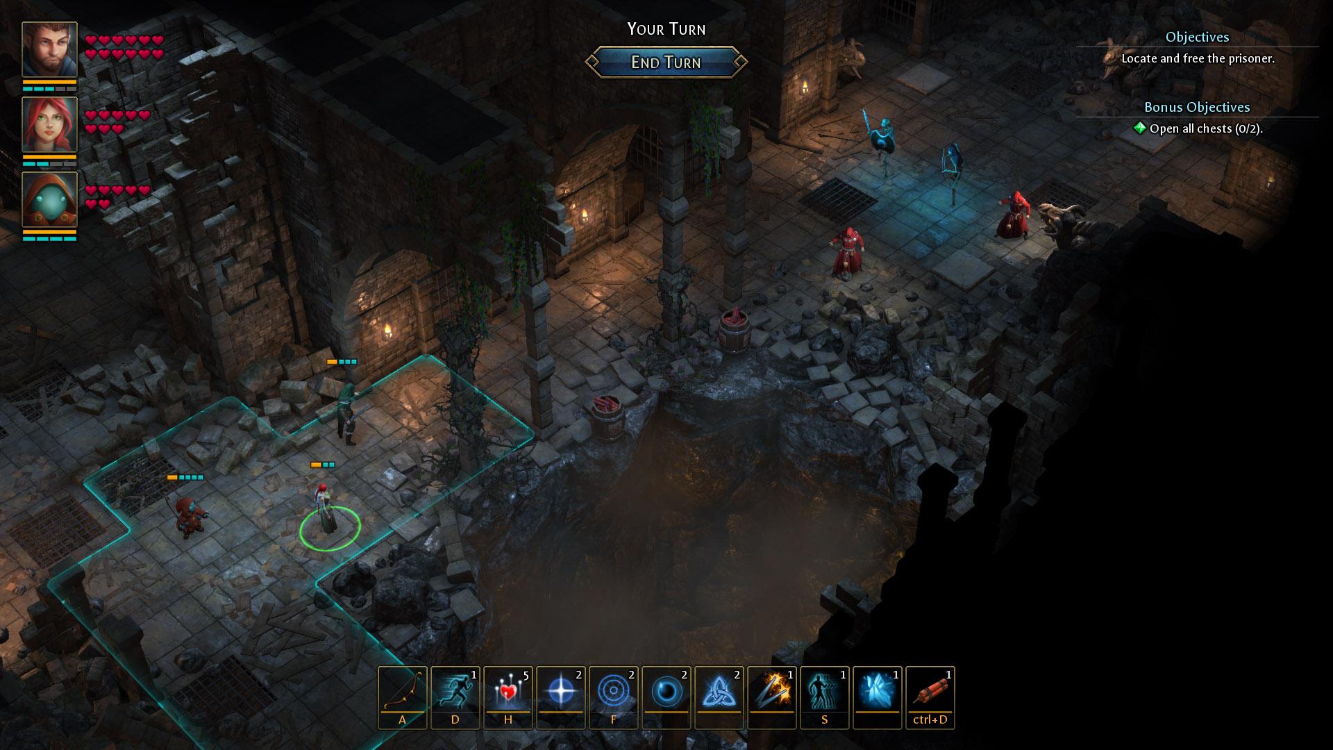 策略RPG《德鲁伊之石:梅希尔森林的秘密》公布 5月16日登Steam