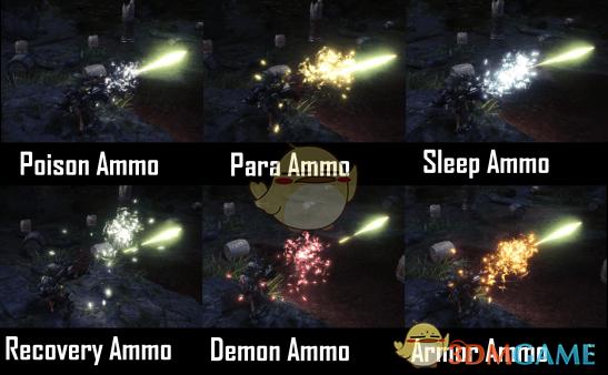 《怪物猎人:世界》轻重弩攻击特效包MOD