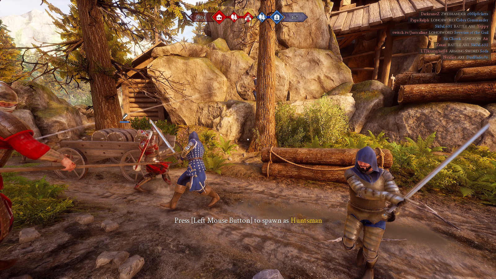 硬核中世纪剑斗游戏《雷霆一击》试玩体验