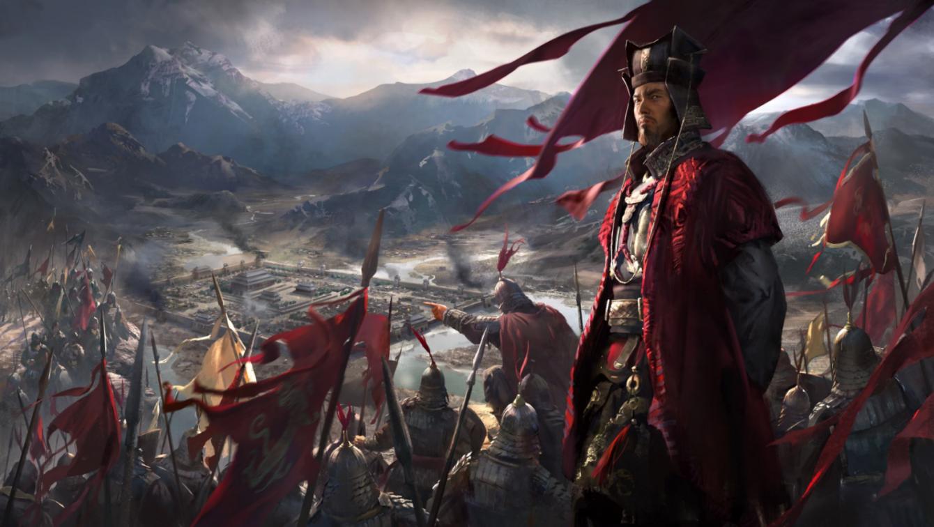《全面战争:三国》最新视频展示游戏中期混战