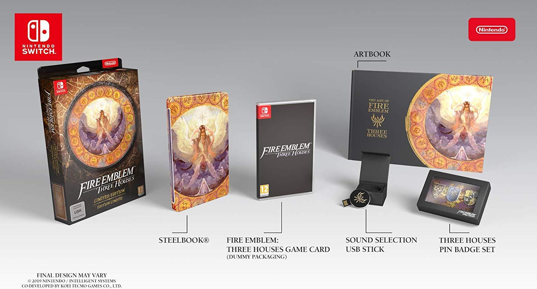 《火焰纹章:风花雪月》 欧版限定上架亚马逊 包装大不同