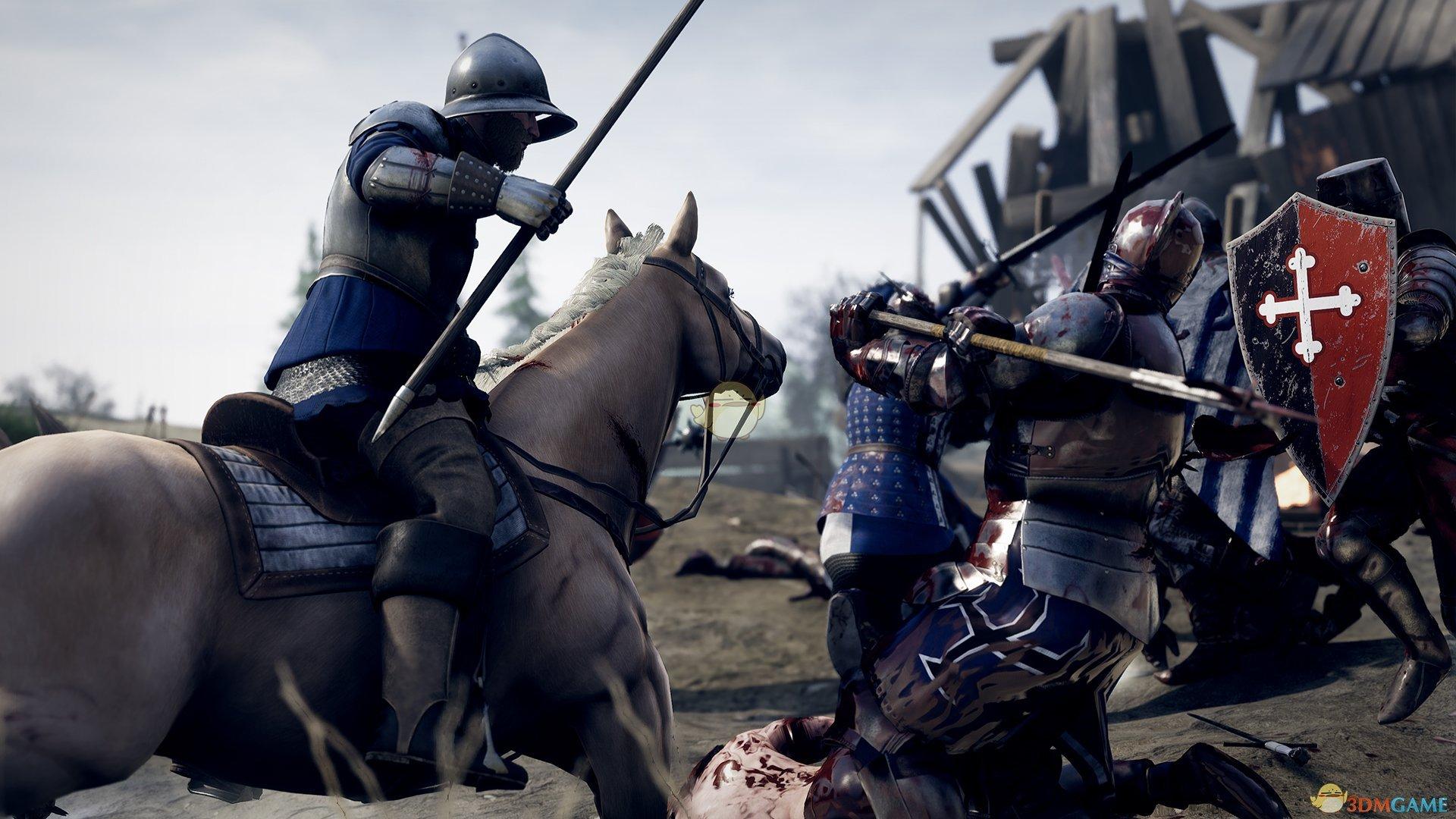 《雷霆一击(MORDHAU)》持盾敌人应对方法分享