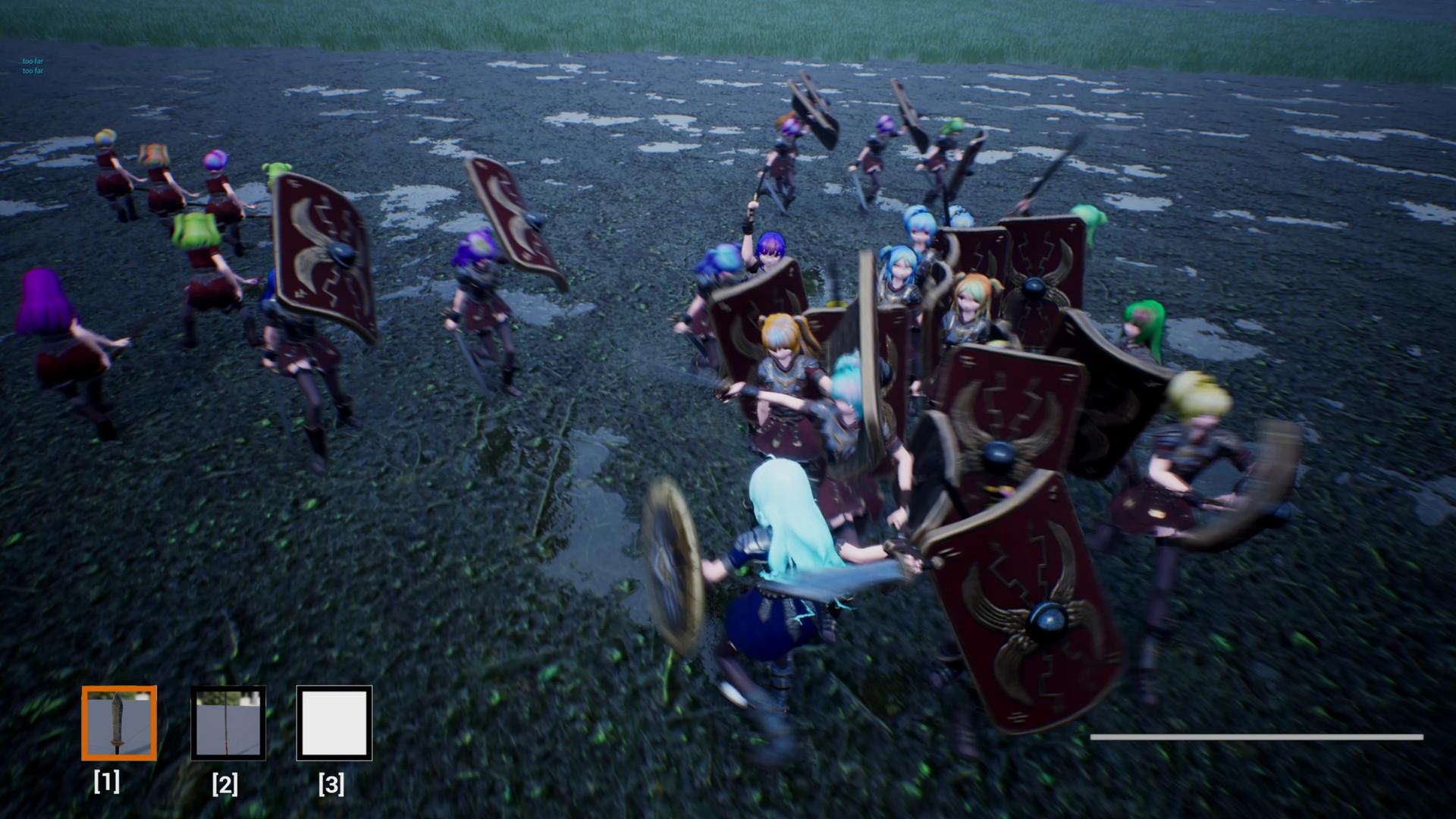 《少女文明》游戏画风奇特 奇葩的《骑砍》模仿者
