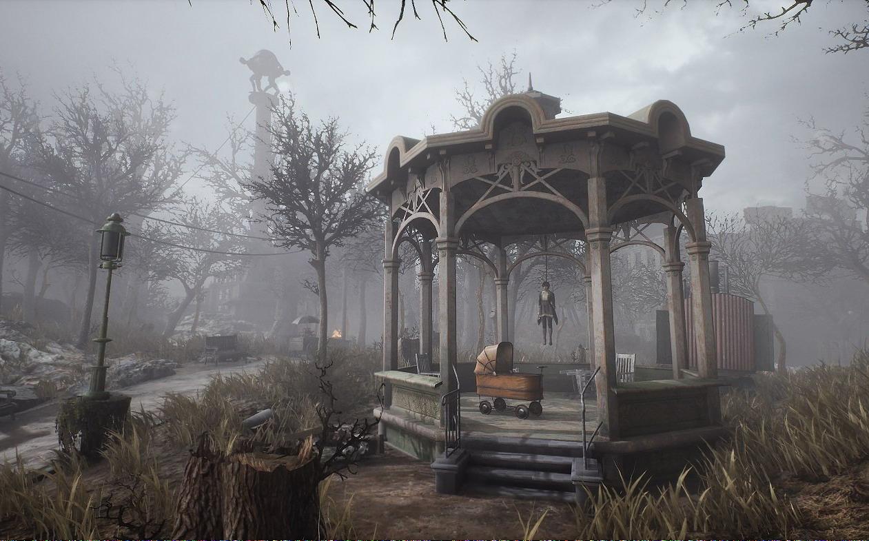 克苏鲁游戏《沉没之城》新截图 唤醒内心深处的恐惧