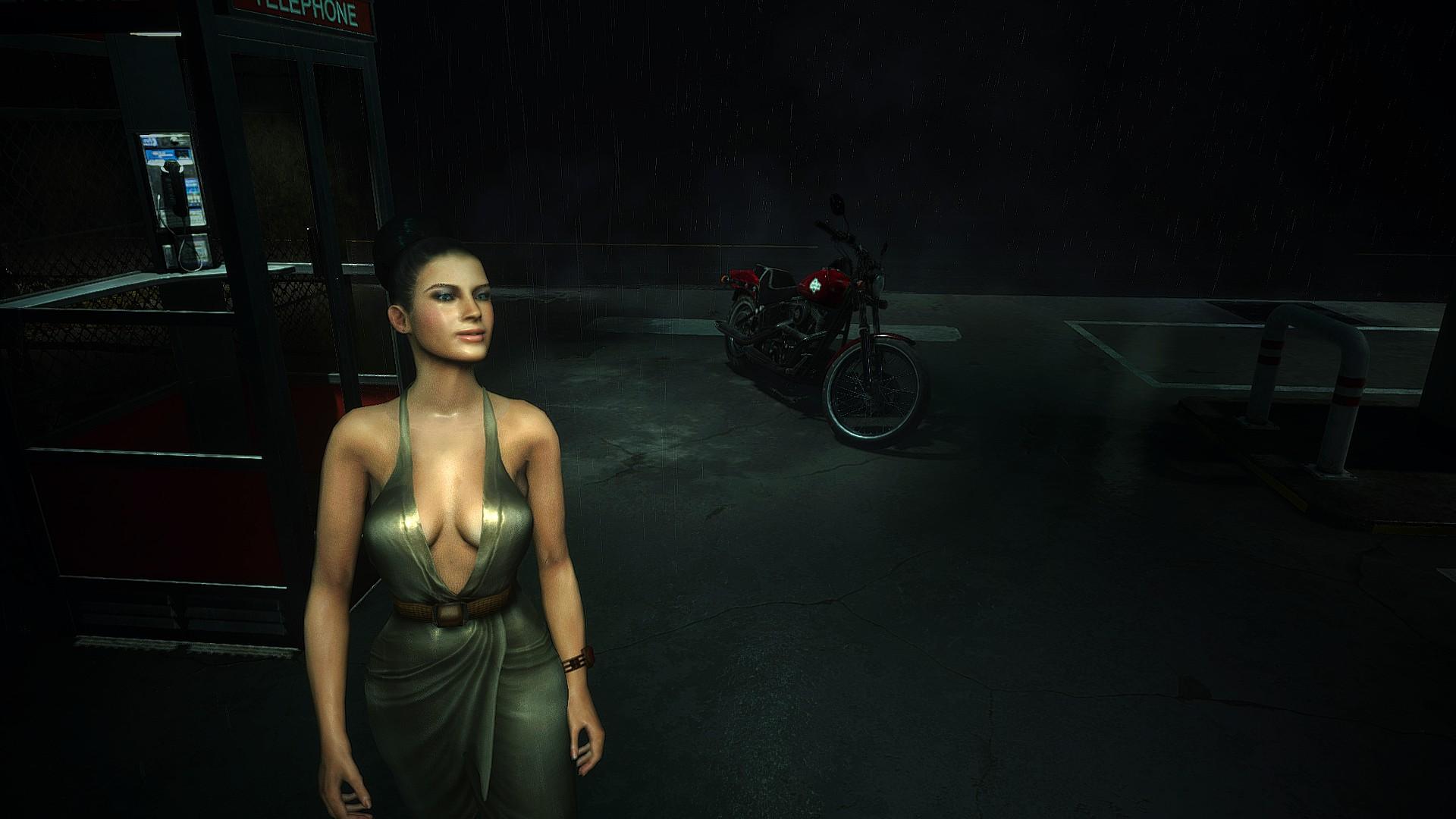 《生化危机2:重制版》MOD 让你扮演《生化5》性感美女伊柯塞拉·琼尼