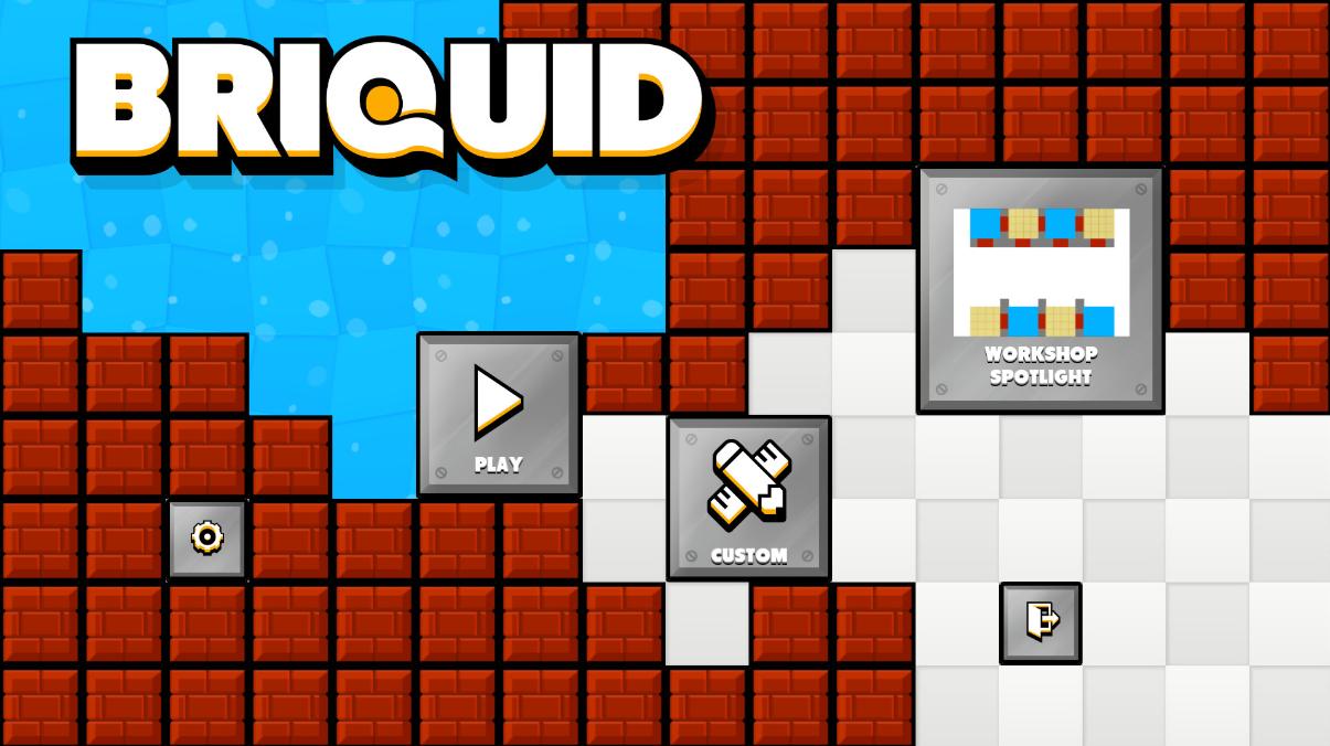 <b>《石油骚动》开发商新作发售 水物理学益智游戏《Briquid》</b>