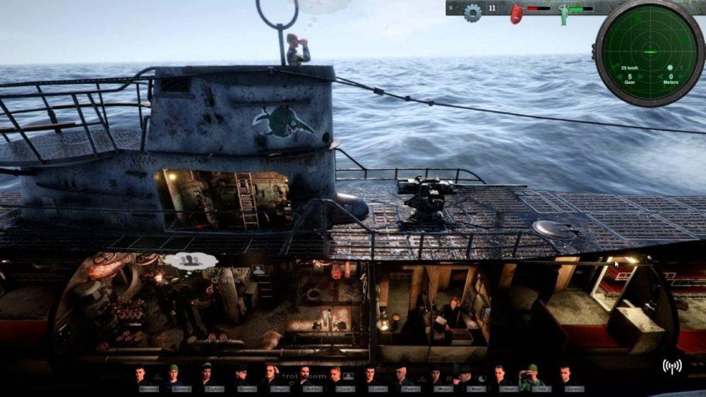 《Uboat》会不会登陆PS4?开发商:有可能但无法保证