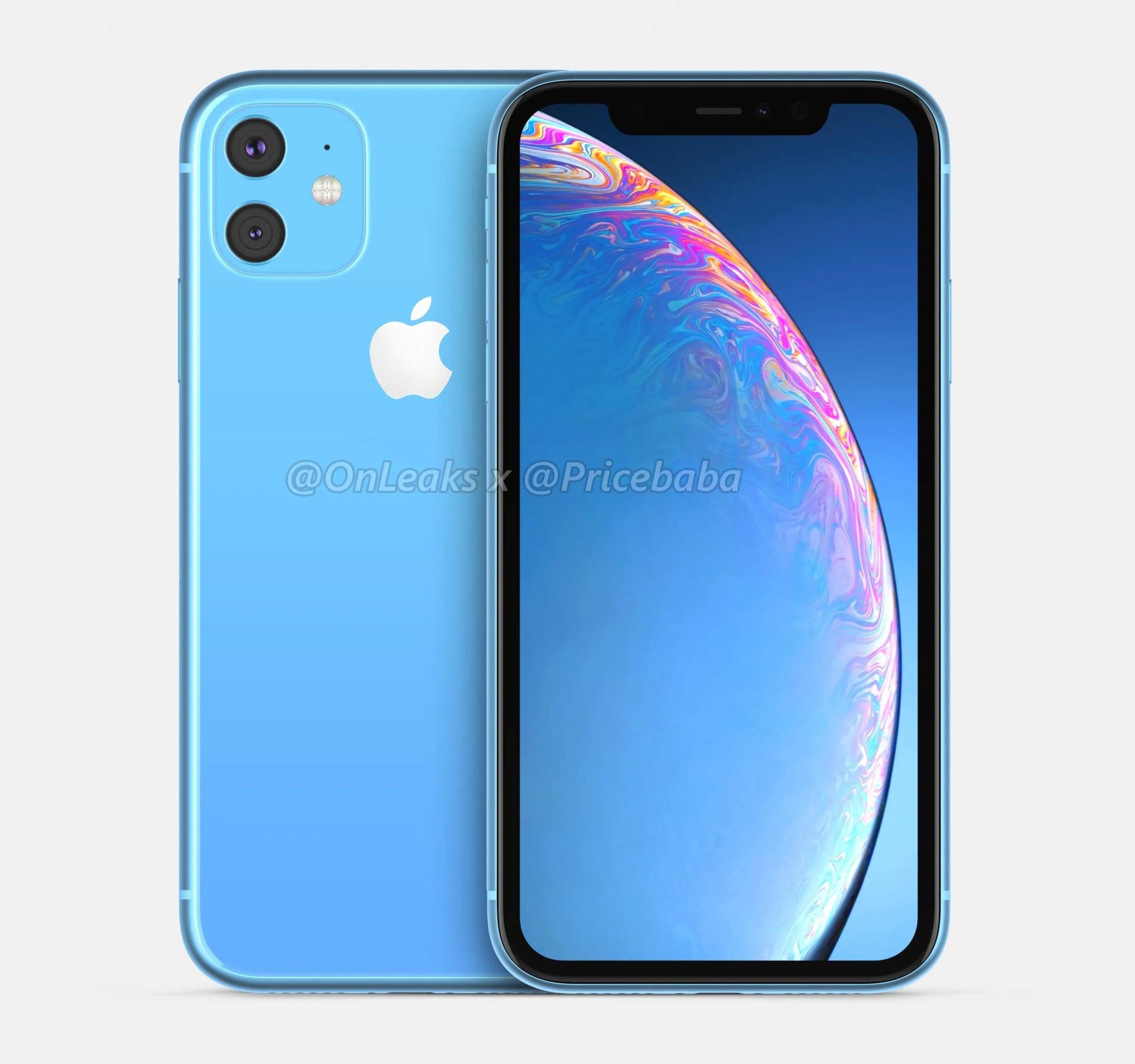 """iPhone XR二代360度渲染图 """"浴霸""""加持黑边感人"""