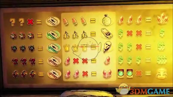 《无主之地3》老虎机奖励组合一览