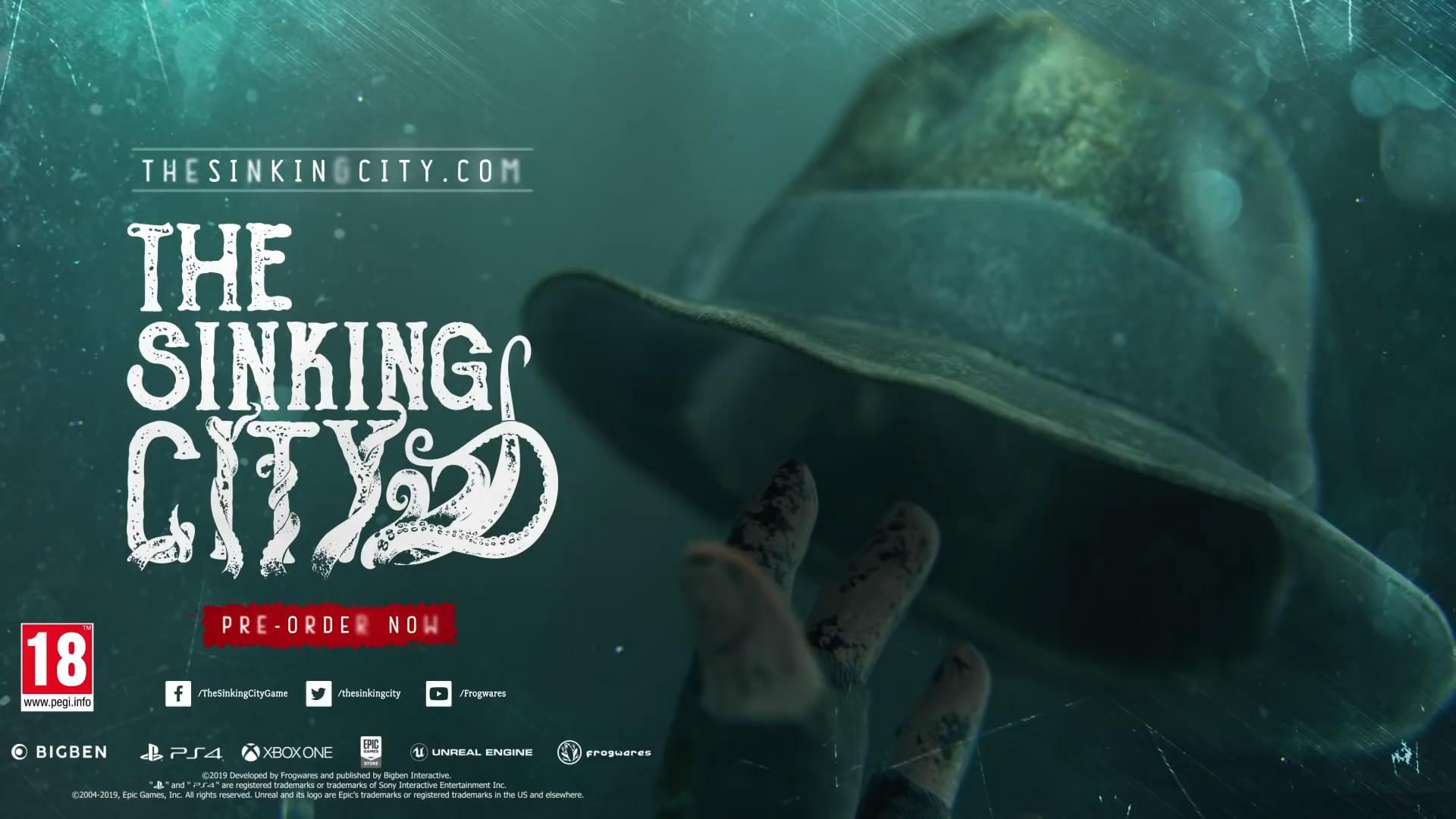 《沉没之城》新预告片发布 惊悚诡异的克苏鲁世界