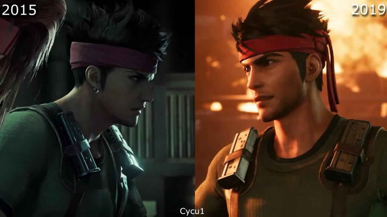 很良心了!《最终幻想7:重制版》2015 VS 2019