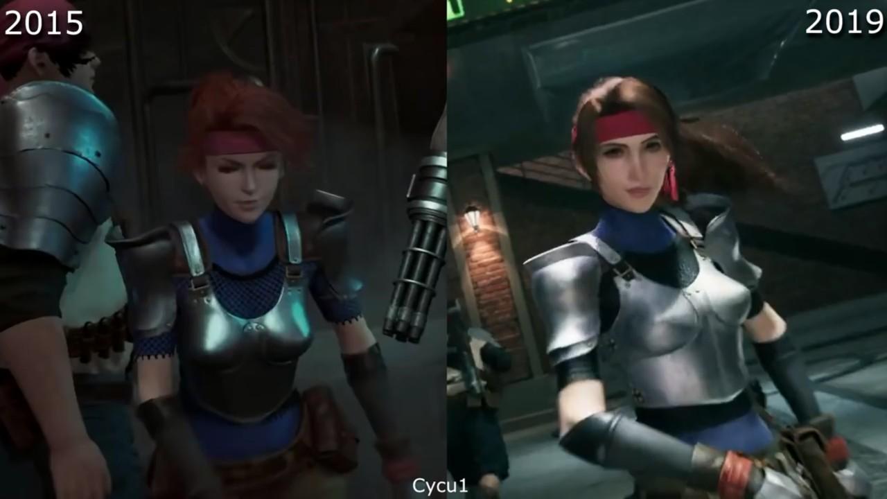 全球资讯_很良心了!《最终幻想7:重制版》2015 VS 2019_3DM单机