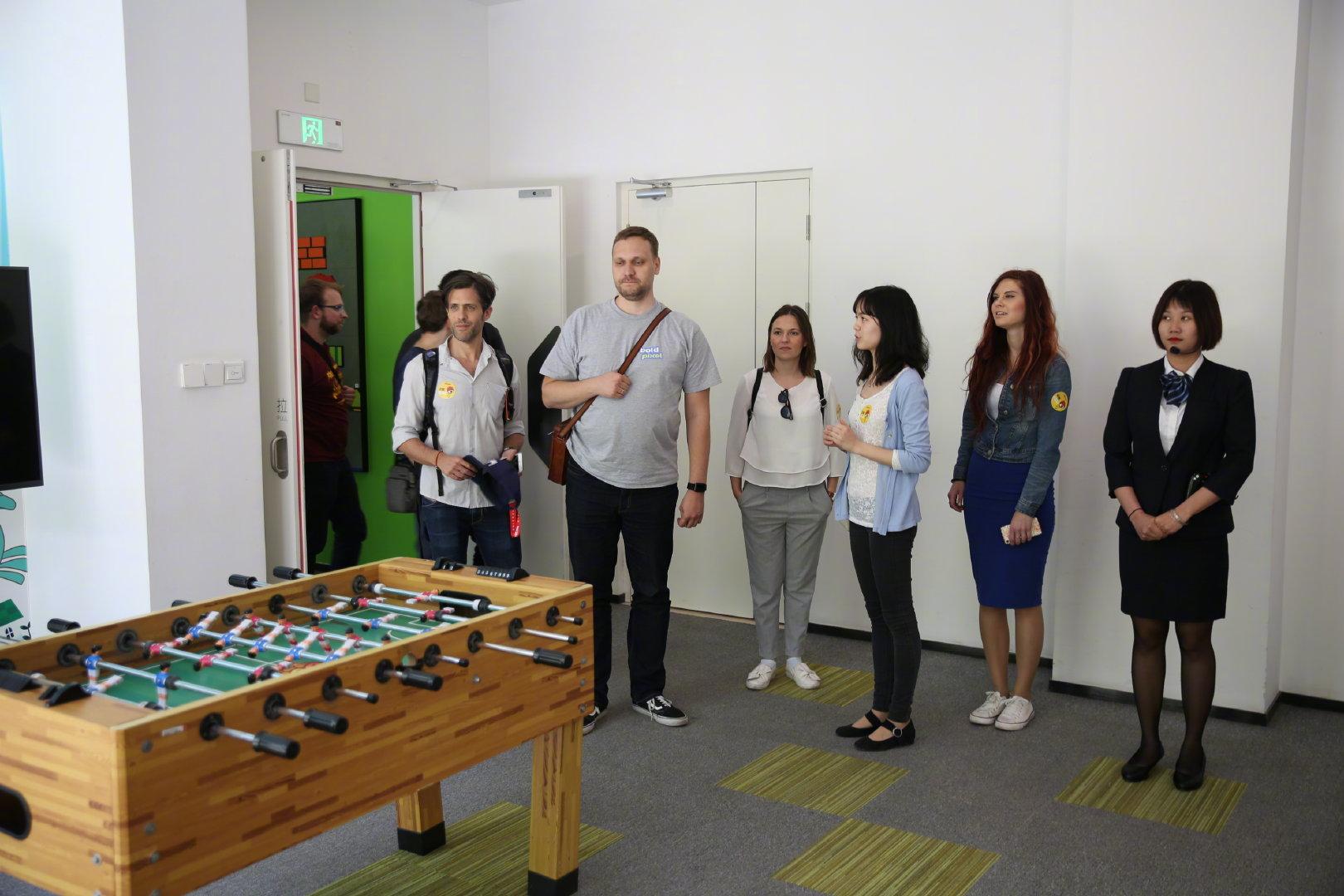 波兰游戏代表团到访新浪 称中国玩家更喜欢移动端游戏